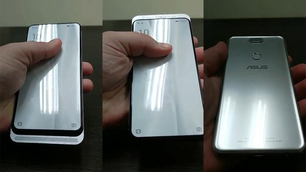 ZenFone 6 lộ ảnh thực tế: Thiết kế màn hình trượt 2 chiều giống Nokia N95, mặt lưng khá xấu