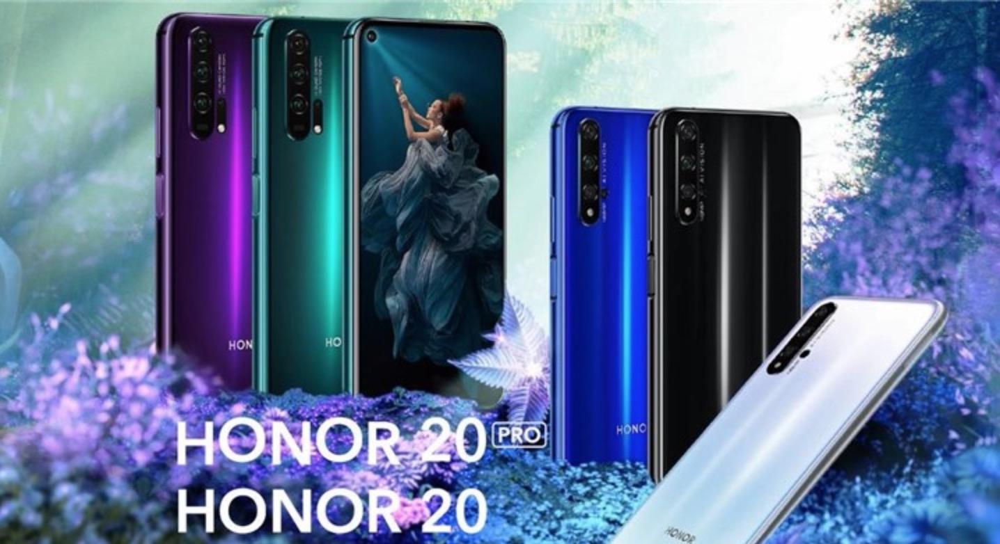 Honor 20/20 Pro ra mắt: màn hình đục lỗ, 4 camera sau, hỗ trợ dải nhạy sáng ISO lên đến 204800, giá từ 13 triệu