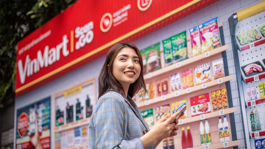 Vingroup mở siêu thị ảo Vinmart 4.0 đầu tiên tại Việt Nam, quét mã QR, nhận hàng tại nhà chỉ trong hai giờ