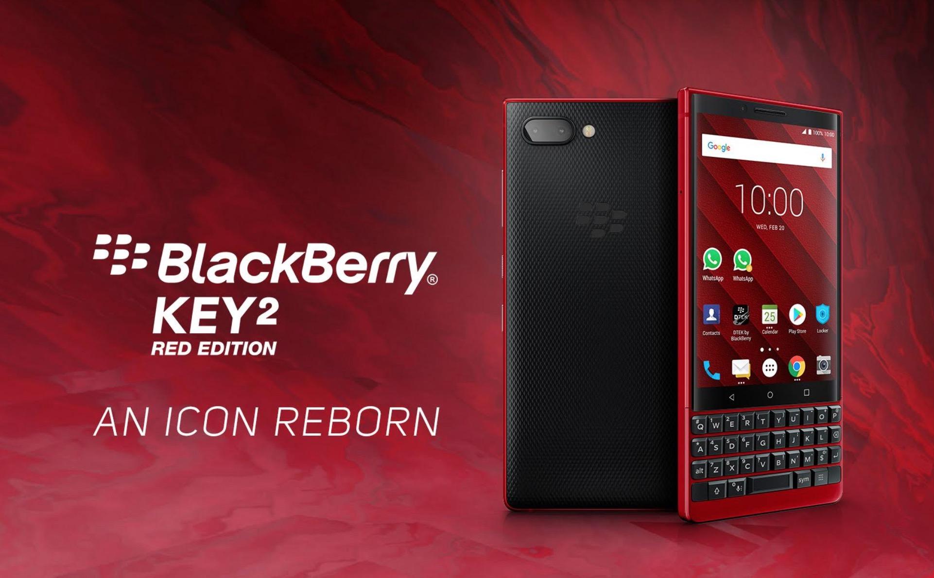 BlackBerry KEY2 Red Edition về Việt Nam với số lượng có hạn giá 17.990.000 đồng