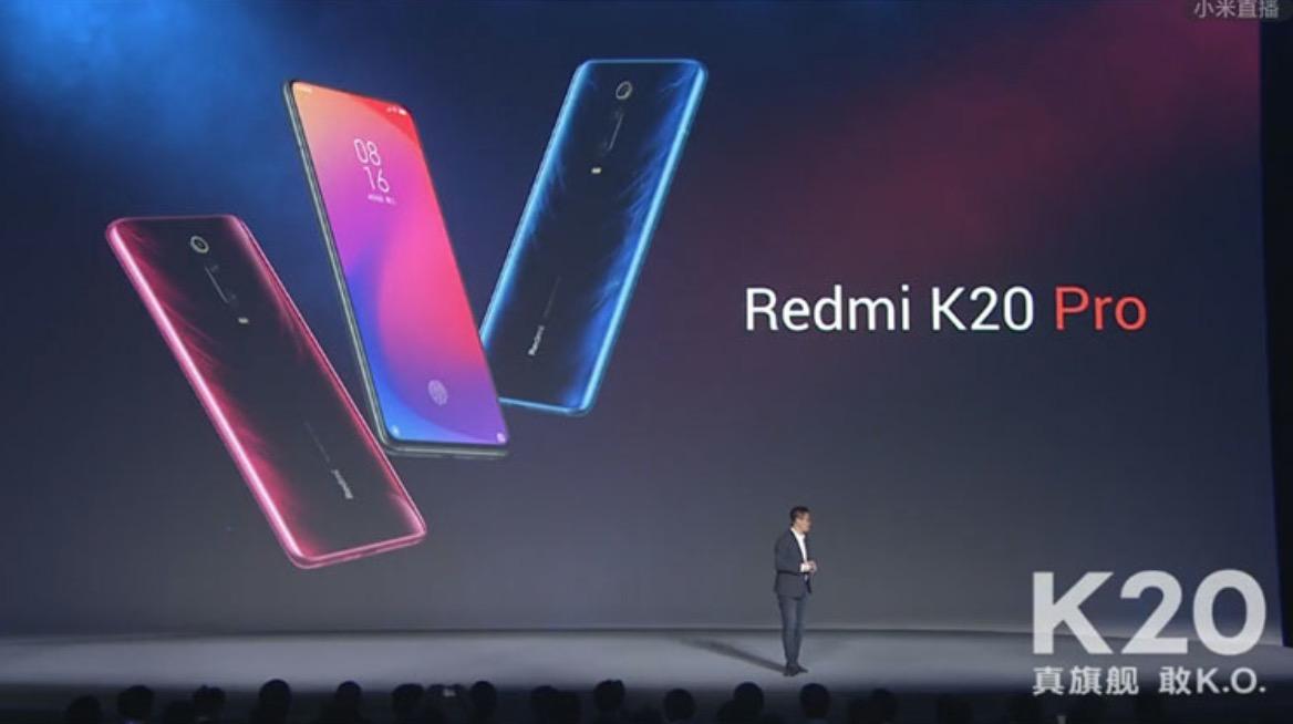 Redmi K20/K20 Pro chính thức trình làng: Snapdragon 730/855, vân tay trong màn hình, camera thò thụt, giá rất rẻ