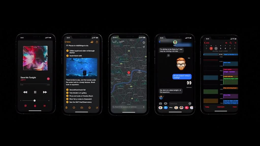 [WWDC19] Apple giới thiệu iOS 13, hỗ trợ chế độ dark mode (nền tối), vuốt trên bàn phím và nhiều tính năng mới đáng chú ý