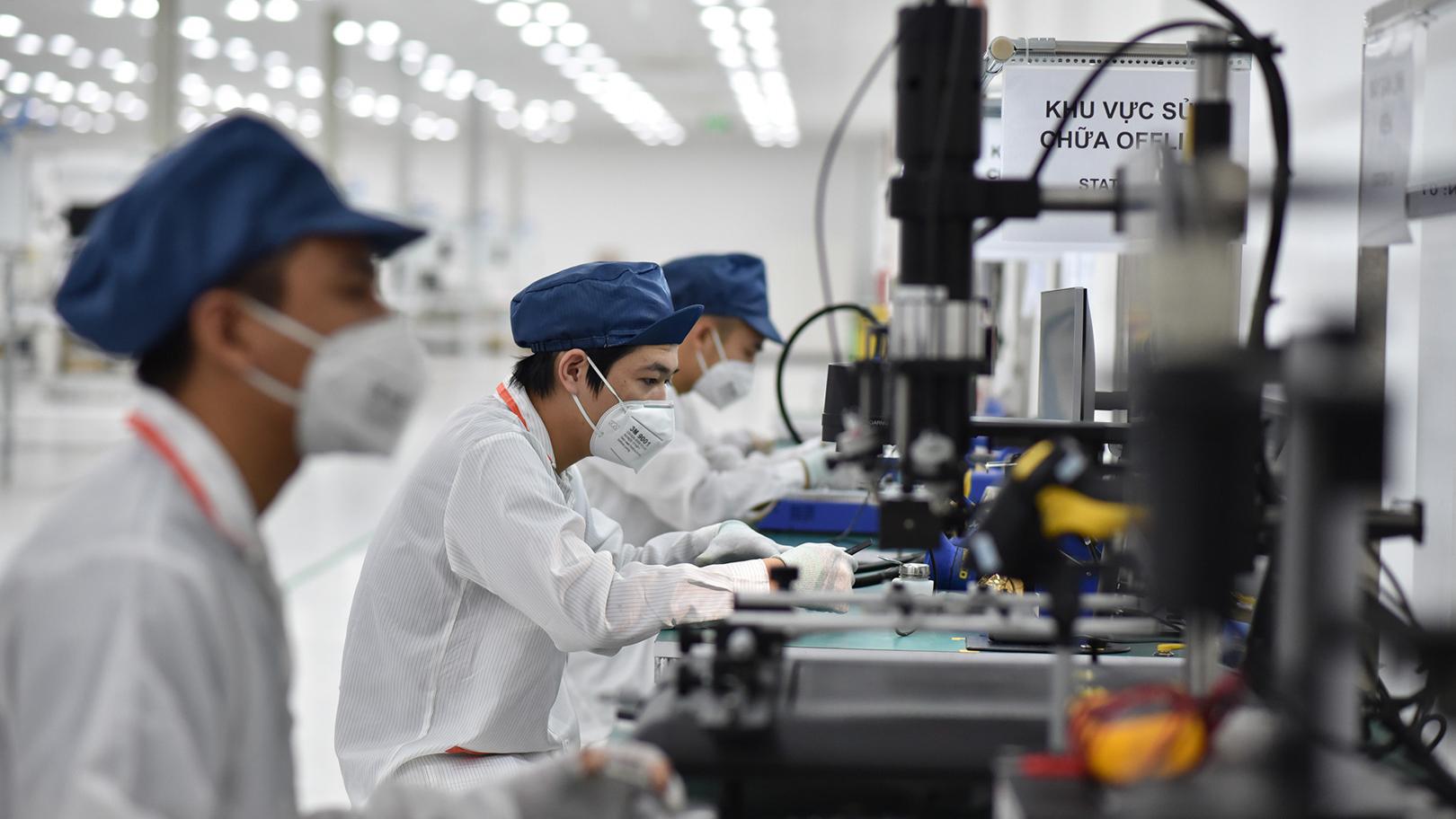 Vingroup khởi công nhà máy sản xuất smartphone công suất 125 triệu máy/ năm