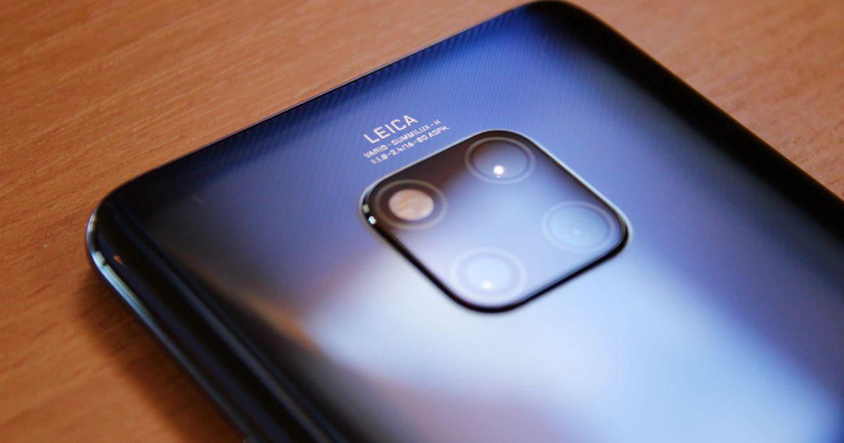 Huawei Mate 30 Pro lộ hình ảnh render với cụm 4 camera, màn hình 90Hz