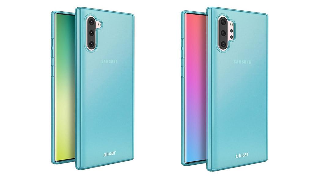 Galaxy Note 10/ Note 10 Pro lộ thiết kế thông qua nhà sản xuất phụ kiện ốp lưng