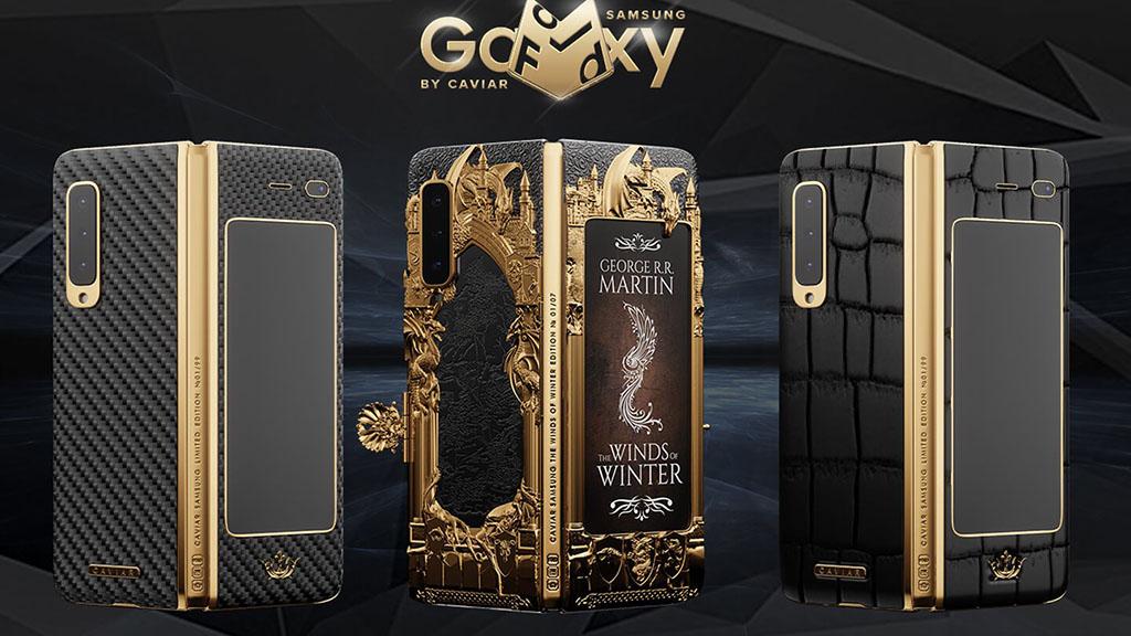 Caviar ra mắt Samsung Galaxy Fold phiên bản Game of Thrones, chỉ có 7 chiếc, giá 190 triệu