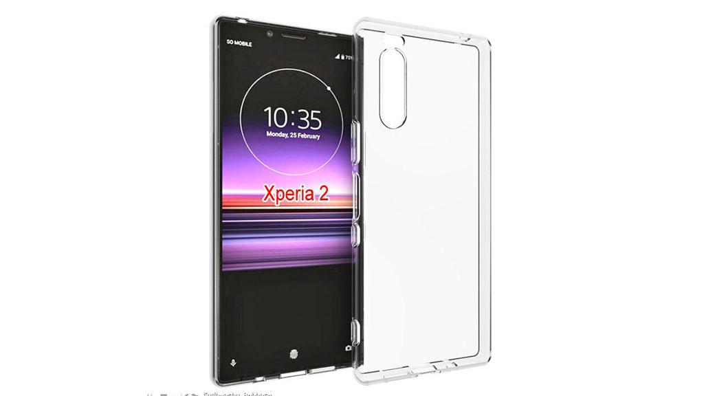 Sony Xperia 2 lộ thiết kế thông qua nhà sản xuất phụ kiện ốp lưng