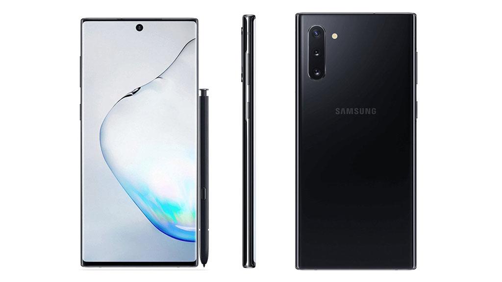 Cằm của Samsung Galaxy Note 10 có thể còn mỏng hơn cả iPhone XS