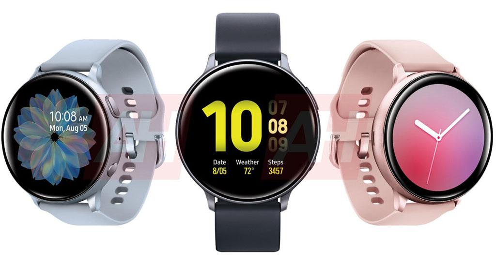 Rò rỉ toàn bộ các phiên bản và tùy chọn màu sắc của Galaxy Watch Active 2