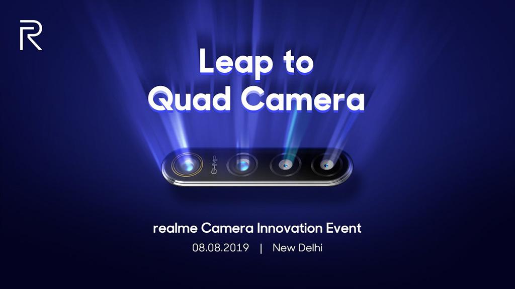 Realme hương hiệu con của Oppo đã công bố ngày ra mắt smartphone camera 64MP