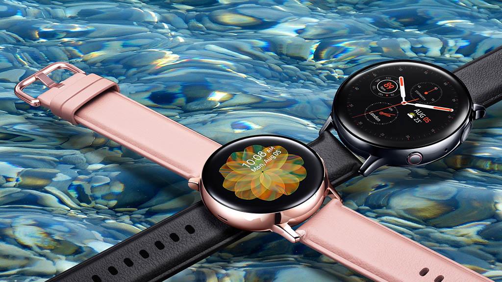 Samsung ra mắt Galaxy Watch Active 2: Viền bezel kỹ thuật số, kháng nước 5ATM, hai tùy chọn dây đeo