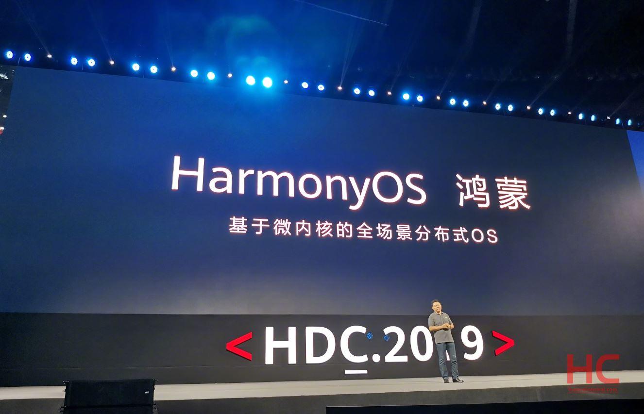 Huawei chính thức ra mắt hệ điều hành riêng với tên gọi Harmony OS