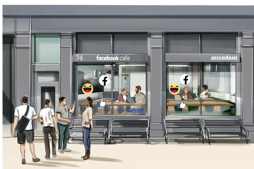 Facebook mở quán cafe miễn phí để hướng dẫn người dùng về cài đặt quyền riêng tư