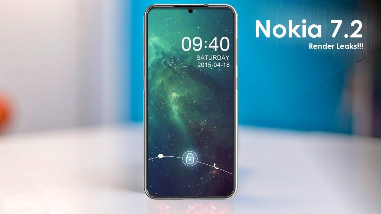 Rò rỉ hình ảnh render Nokia 7.2 với cụm 3 camera hình tròn