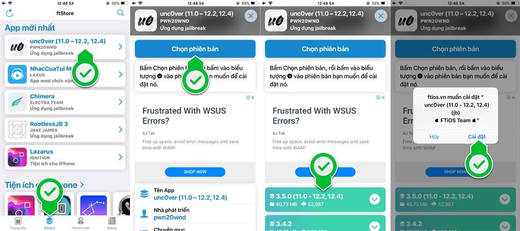 Pwn20wnd cập nhật unc0ver v3.5, hỗ trợ Jailbreak iOS 12.4 cho các thiết bị sử dụng chip A7 - A11