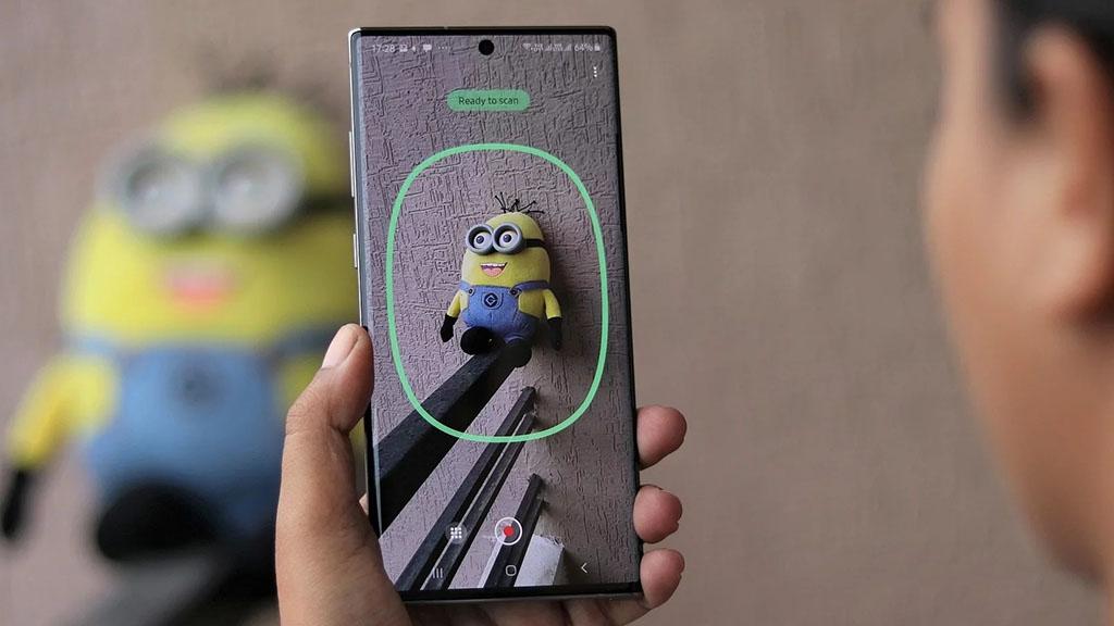 Samsung phát hành ứng dụng quét 3D sử dụng camera ToF trên Galaxy Note 10+, mời anh em tải về
