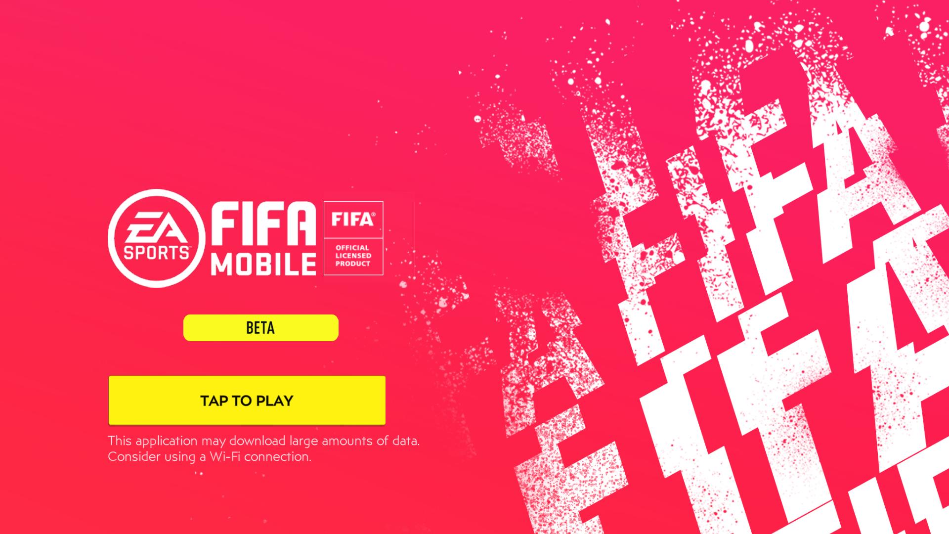 Nhanh tay tham gia trả nghiệm sớm phiên bản Beta của tựa game FIFA 2020 Mobile
