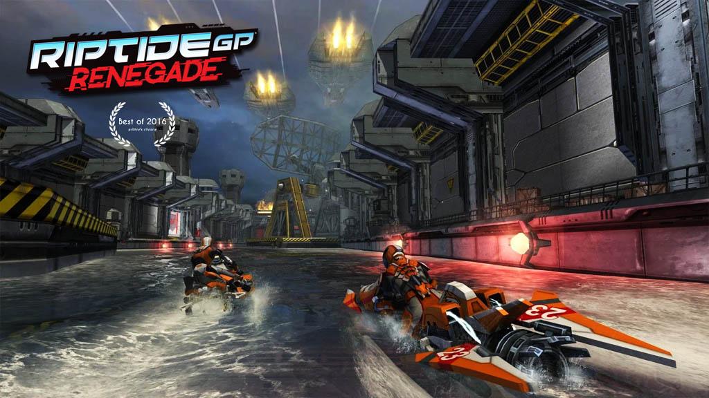 Riptide GP: Renegade, tựa game đua mô tô nước từng đạt giải App Store Best of 2016 đang miễn phí cho cả Android và iOS
