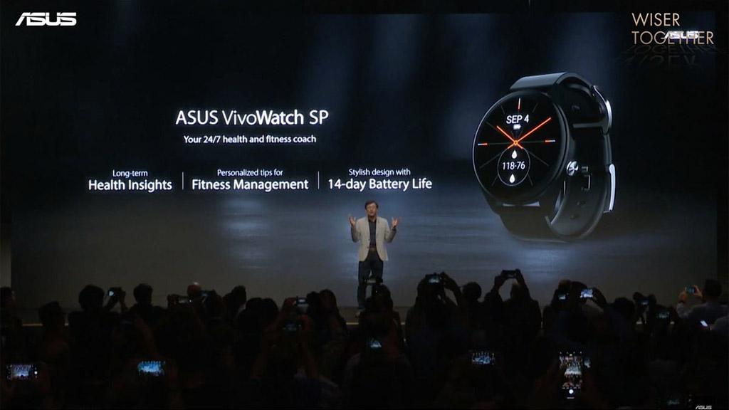 [IFA 2019] Asus ra mắt VivoWatch SP với thời lượng pin 2 tuần, tích hợp cảm biến ECG, PPG