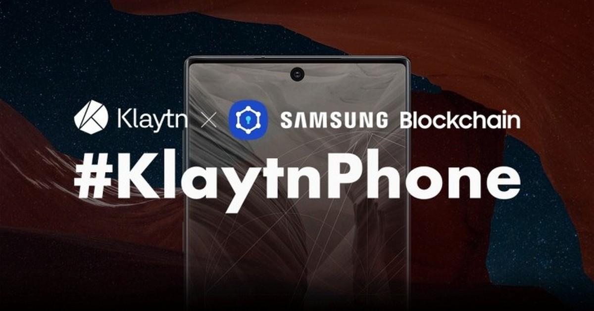 Samsung ra mắt KlaytnPhone: Galaxy Note 10 5G tích hợp công nghệ blockchain