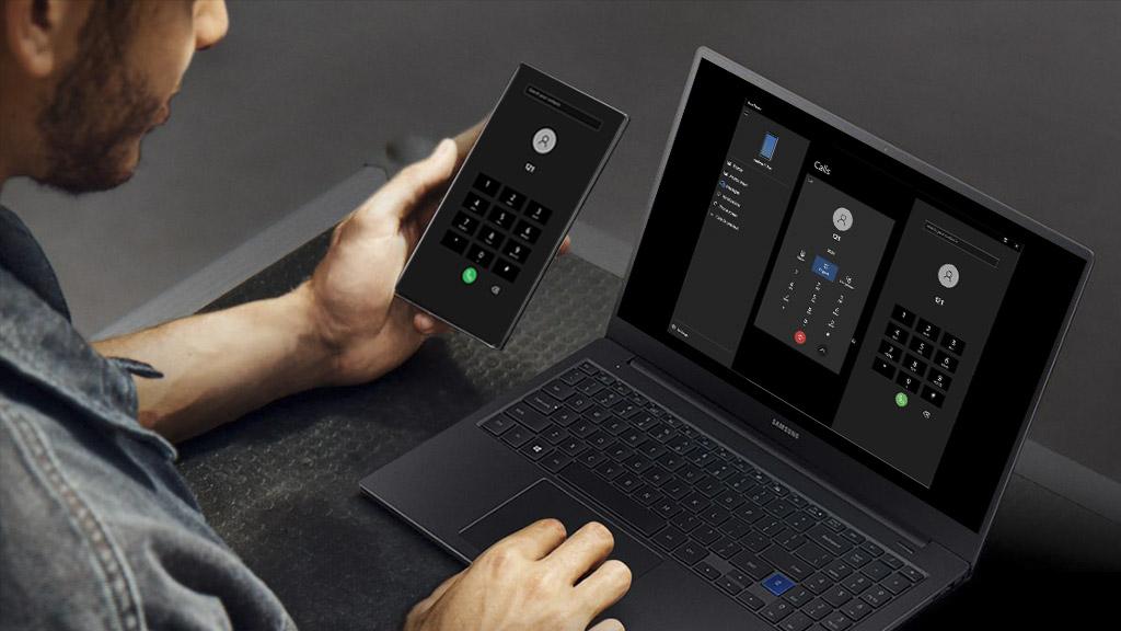 Ứng dụng Your Phone đã có thêm tính năng hiển thị dung lượng pin và cho phép thực hiện cuộc gọi trên máy tính