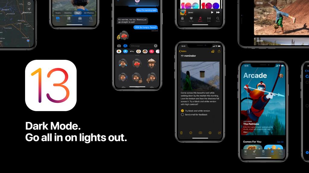 Đã có iOS 13 chính thức với Dark mode, Apple Arcade, Bàn phím QuickPath và nhiều tính năng hấp dẫn khác