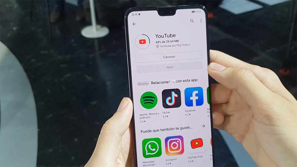 Đã có thể cài thành công bộ ứng dụng Google lên chiếc Huawei Mate 30