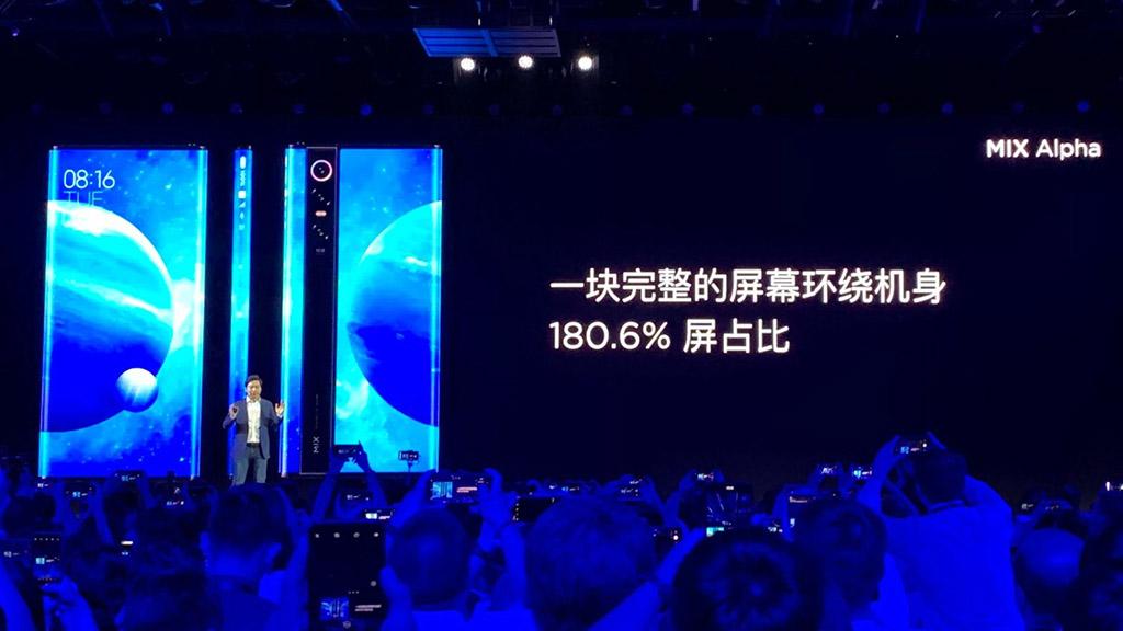 Xiaomi ra mắt Mi MIX Alpha: Thiết kế đột phá với màn hình úp ngược ra sau chiếm 180.6% thân máy, camera 108MP, giá 65 triệu