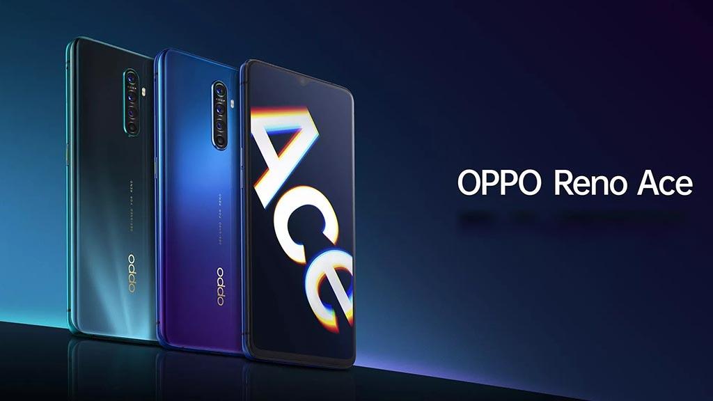 OPPO Reno Ace ra mắt với Snapdragon 855+, màn hình 90Hz, sạc nhanh Super VOOC 2.0 65W