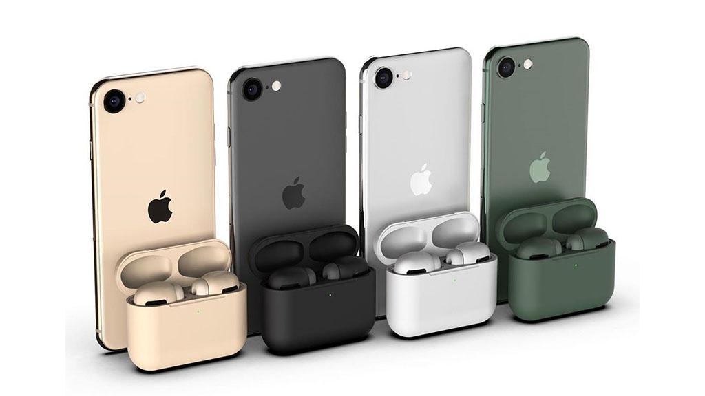 AirPods Pro sẽ có đến 8 tùy chọn màu, 3 trong số đó giống hệt như trên iPhone 11 Pro