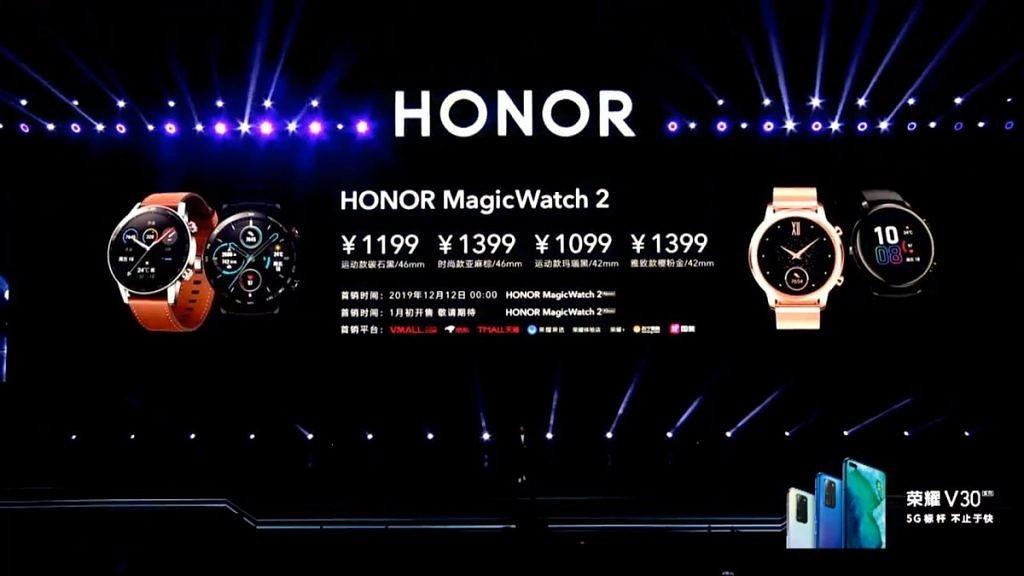 Huawei ra mắt Smartwatch Honor Magic Watch 2 với chip Kirin A1, chạy LiteOS, giá từ 3.6 triệu