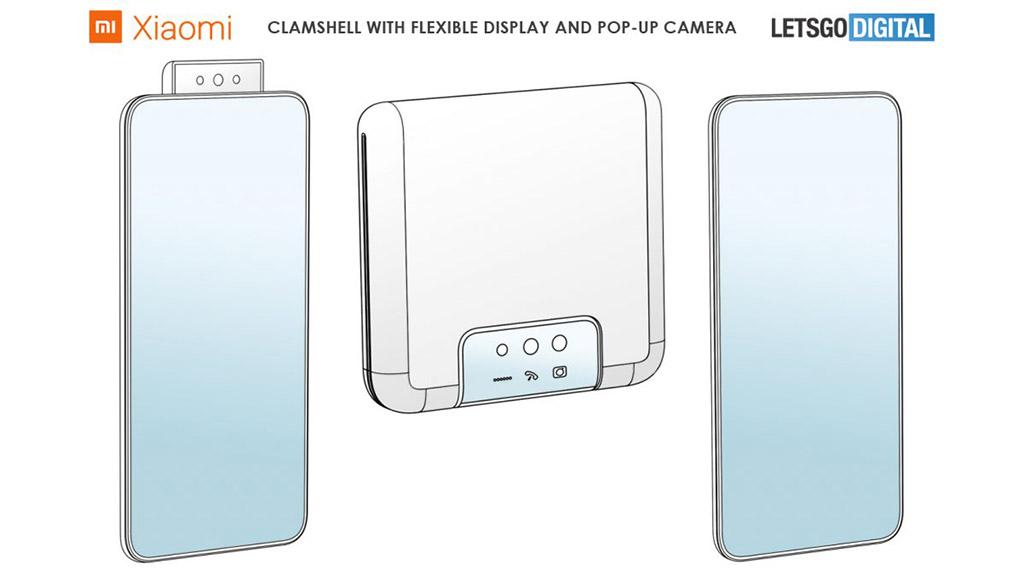 Xiaomi đăng ký bằng sáng chế mới với chiếc smartphone màn hình gập có camera pop-up