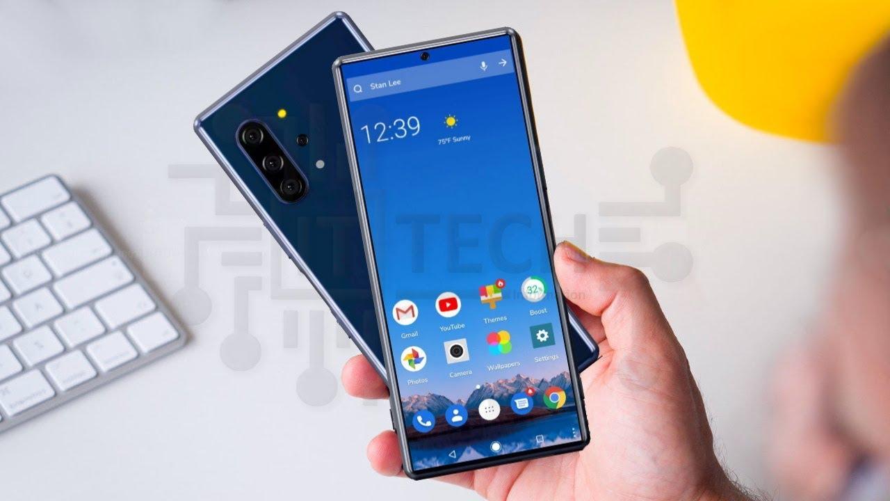 Sony lộ bằng sáng chế về chiếc smartphone mới với thiết kế màn hình đục lỗ, chip Snapdragon 865, 6 camera