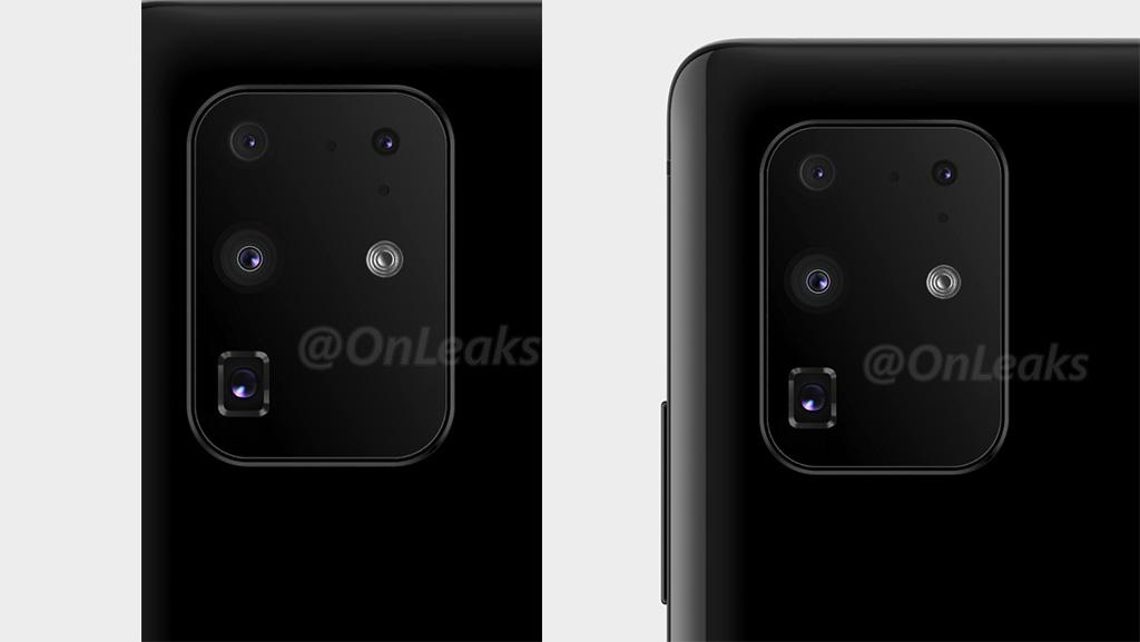 Samsung Galaxy S11+ vẫn chỉ có 4 camera, với cảm biến chính 108MP, cùng ống kính tiềm vọng 48MP