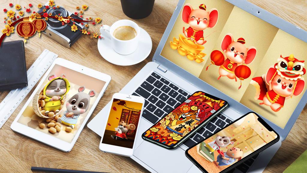 Chia sẻ bộ ảnh nền chào đón Tết Nguyên Đán - Canh Tý 2020 dành cho mobile, tablet và PC