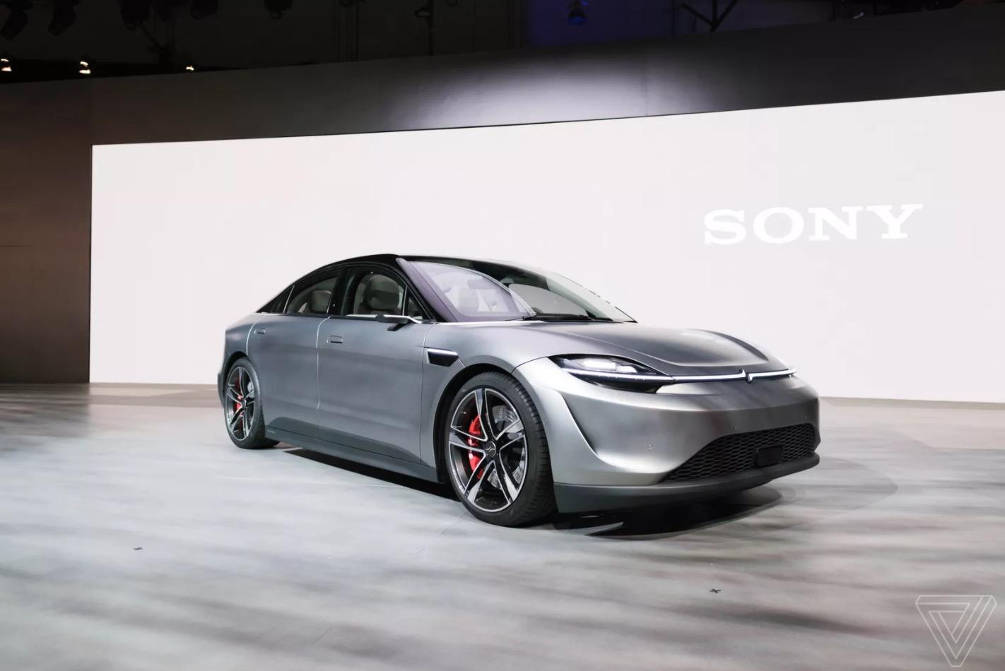 [CES 2020] Sony bất ngờ ra mắt xe ô tô điện Vision-S
