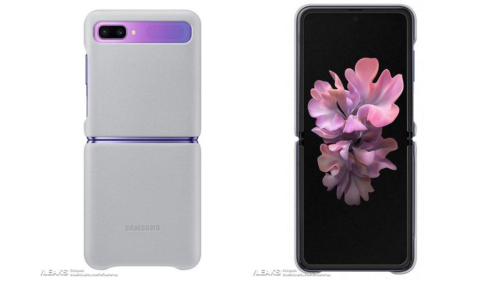 Lộ ốp lưng chính hãng của Samsung dành riêng cho Galaxy Z Flip