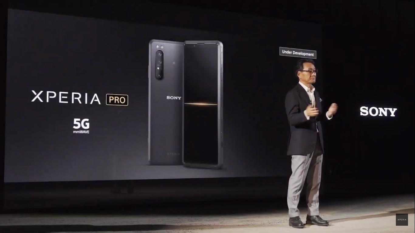 Sony chính thức trình làng chiếc smartphone Xperia Pro 5G hỗ trợ băng tần mmWave