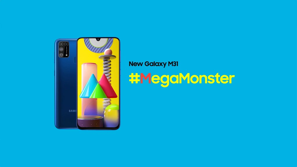 Samsung Galaxy M31 chính thức ra mắt: Chip Exynos 9611, camera chính có độ phân giải 64MP, pin 6000mAh