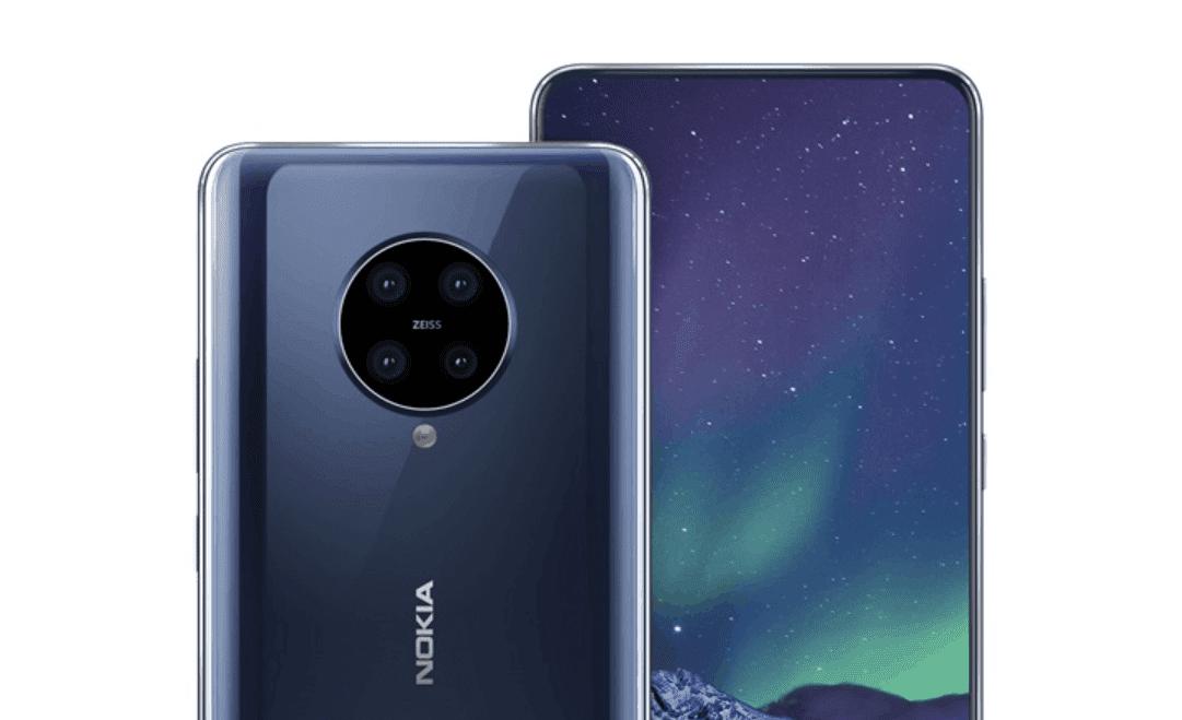 Nokia 9.2 lộ ảnh render với cụm camera hình tròn và chỉ có 4 ống kính