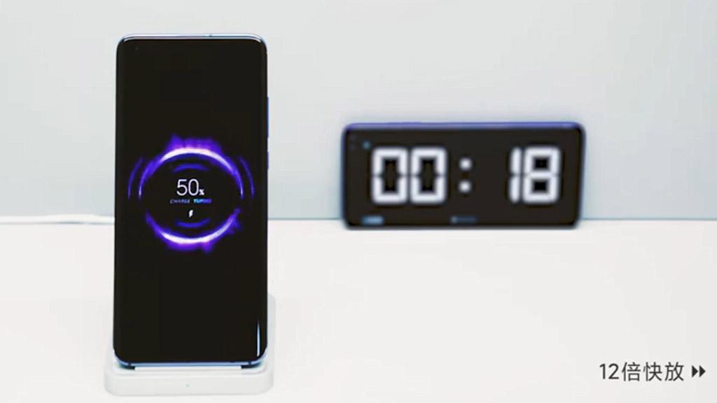 Xiaomi ra mắt công nghệ sạc nhanh không dây 40W, sạc đầy 4000mAh chỉ trong 40 phút