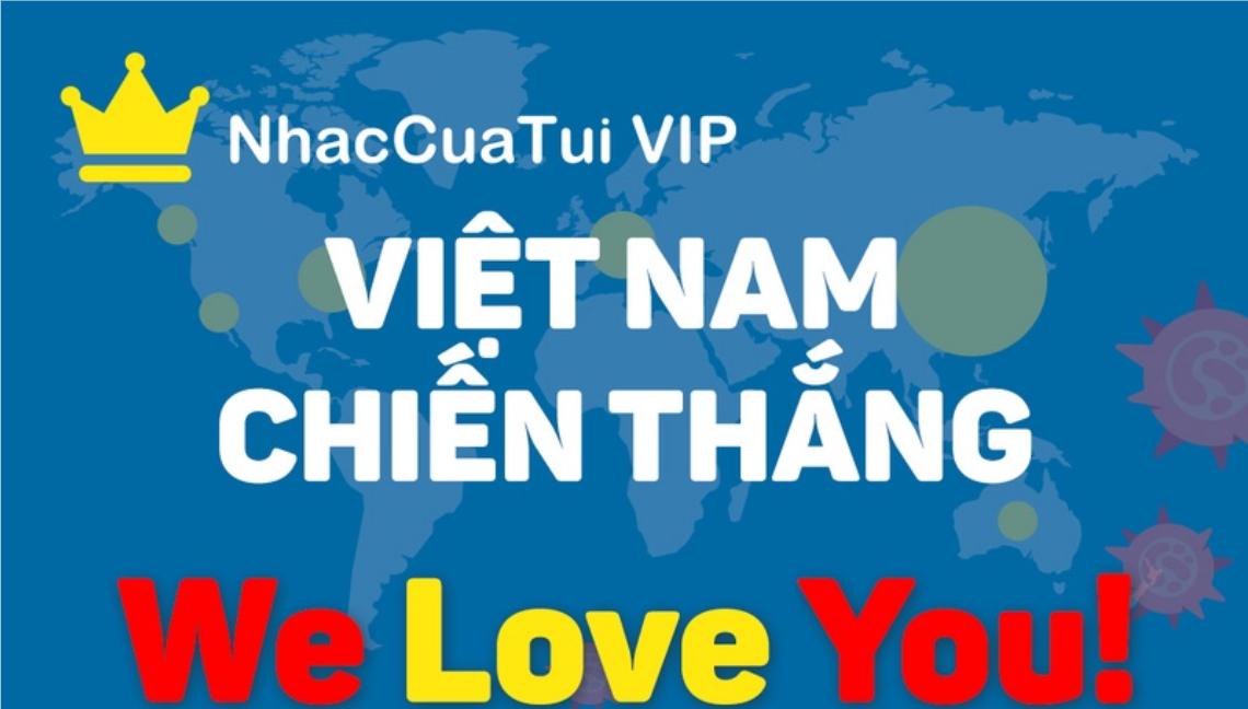 NhacCuaTui tặng code VIP 1 tháng cho người dùng nhằm giải tỏa căng thẳng trong mùa dịch virus Corona