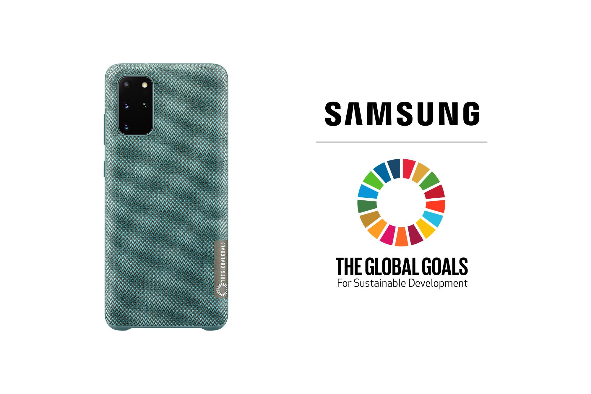 Samsung ra mắt ốp lưng bằng chai nhựa tái chế cho Galaxy S20+, dây vải Kvadrat cho Galaxy Watch Active 2