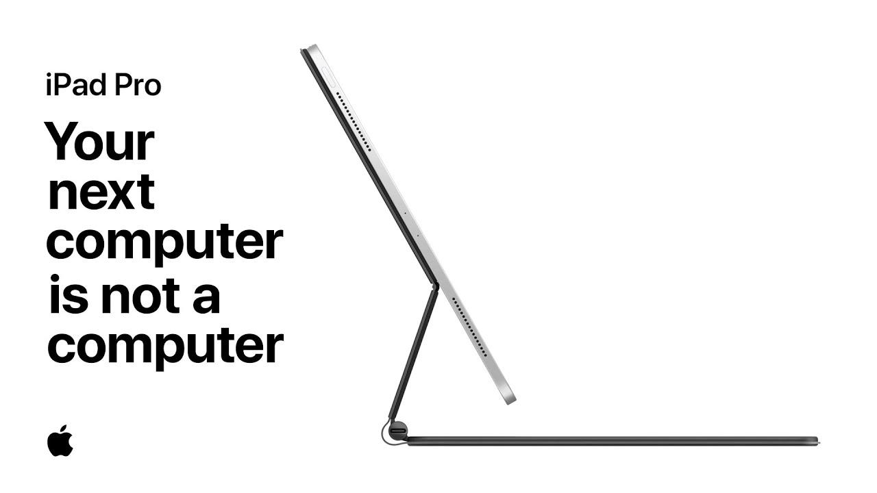 Apple tiếp tục quảng cáo iPad Pro có thể thay thế máy tính truyền thống