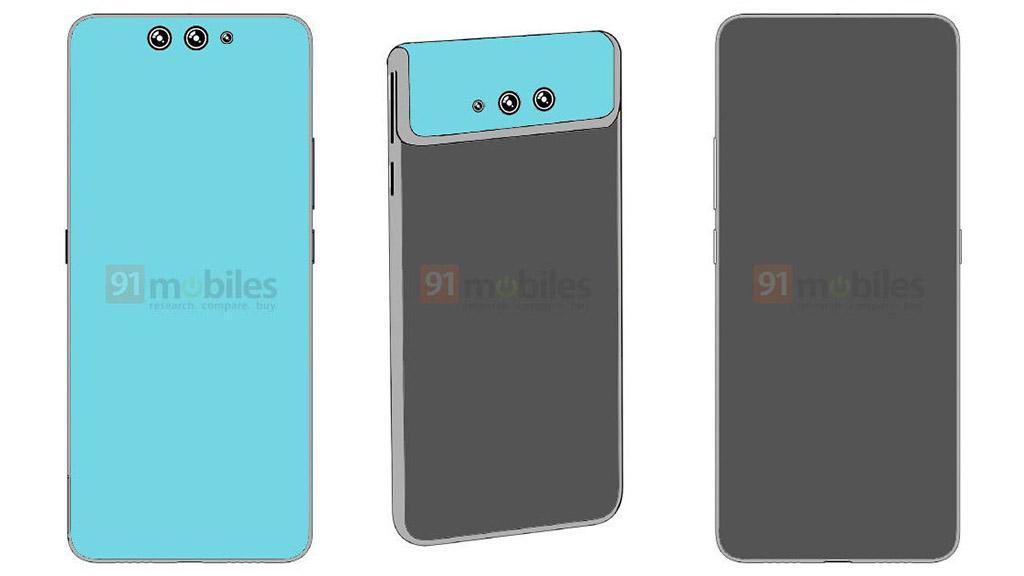Lộ bằng sáng chế mới của Xiaomi về chiếc smartphone màn hình gập từ trước ra sau, gập luôn phần camera