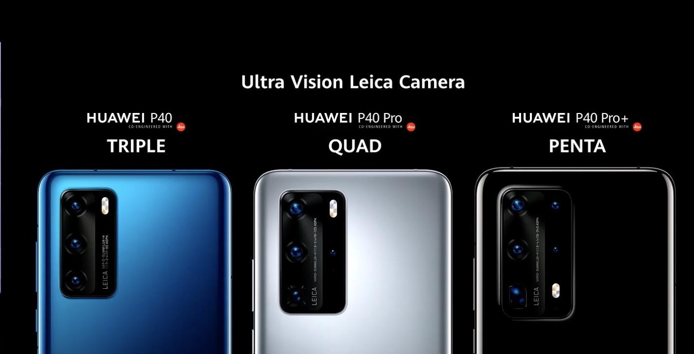 Bộ ba flagship Huawei P40, P40 Pro và P40 Pro+ chính thức ra mắt, giá từ 799 EUR