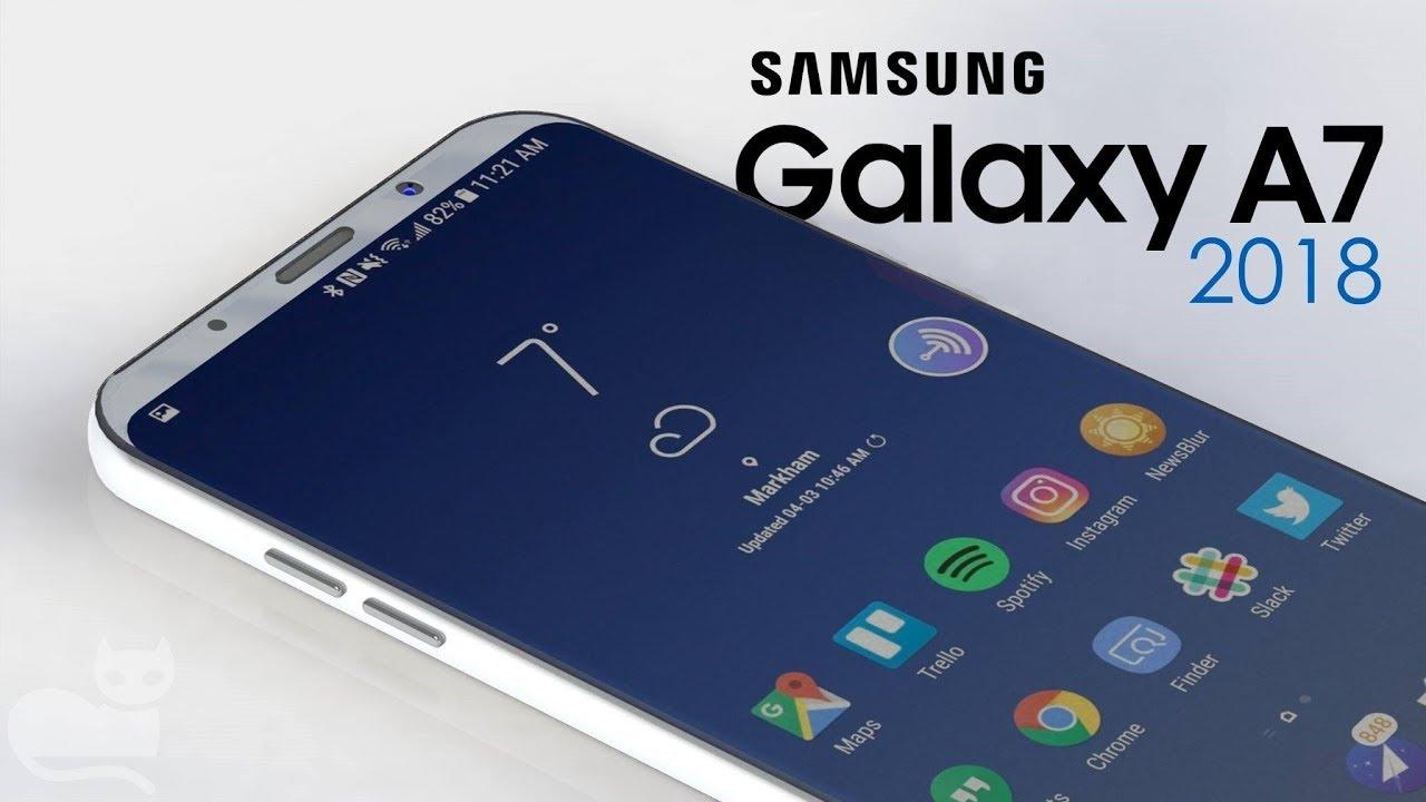 Samsung Galaxy A5 và A7 (2018) sẽ được trang bị màn hình Vô cực và nút Bixby chuyên dụng, ngay dưới thanh volume?