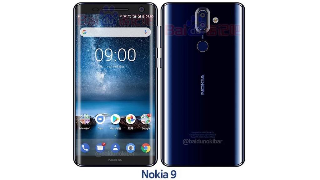 Rò rỉ hình ảnh Nokia 9 với màn hình không viền đẹp hút hồn