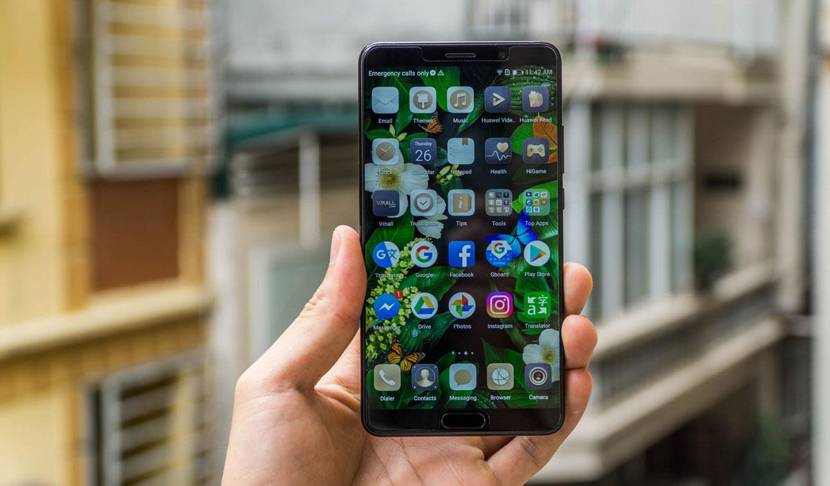 Trên tay Huawei Mate 10: Điện thoại được tích hợp vi xử lý với trí thông minh nhân tạo