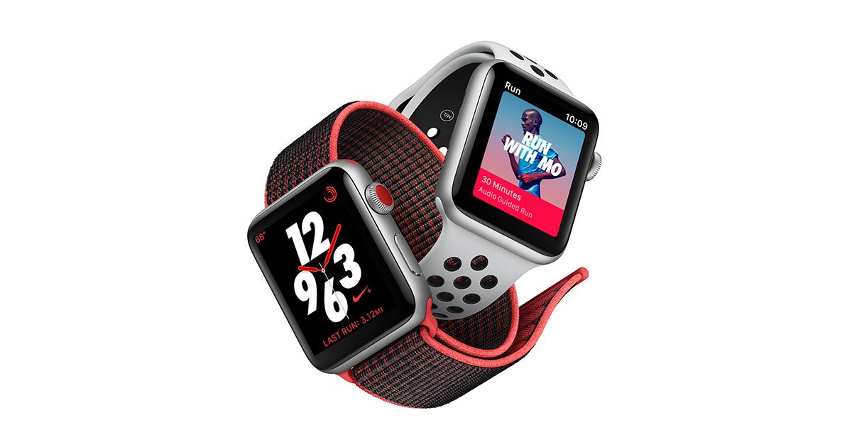 Apple hợp tác với Nike ra mắt phiên bản Watch Series 3 LTE đặc biệt